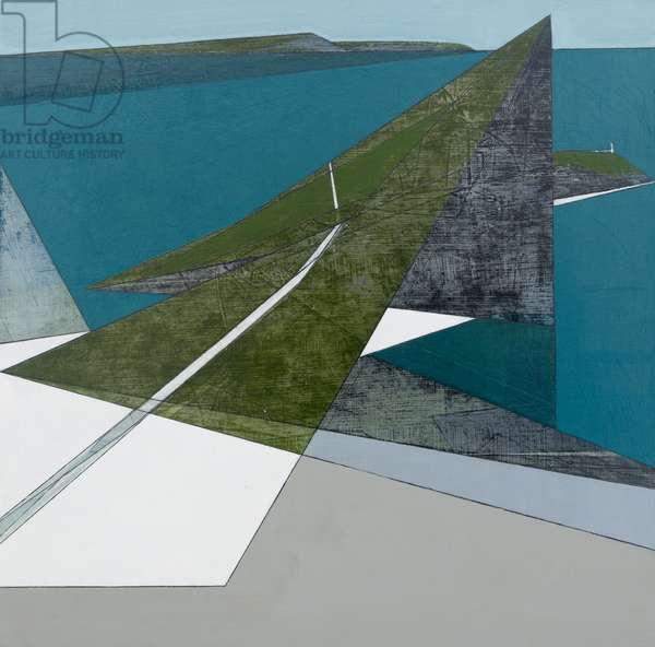 Sea Cliff 5 (acrylic on board)