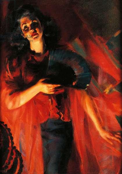 The four seasons in red: autumn, 1940, by Giacomo Balla (1871-1958). Italy, 20th century.