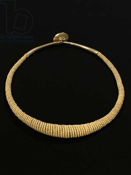 Torc Necklace, Nias (gold)