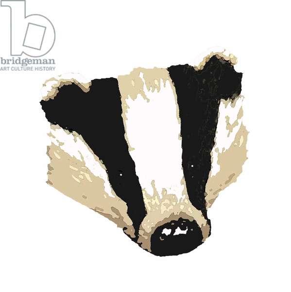 Badger,2018,(digital drawing)