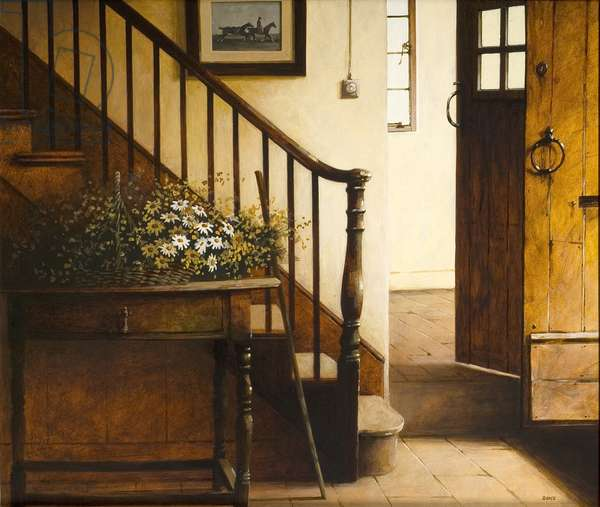Stairs, 2006 (acrylic on board)