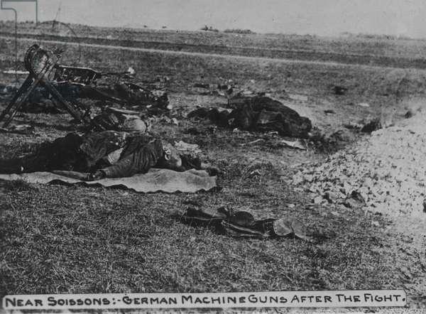 USA, WW1, Western Front, 1918 (b/w photo)