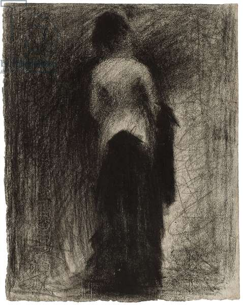 The Promenade, c.1882 (crayon on paper)