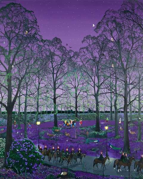 Purple (oil on canvas)