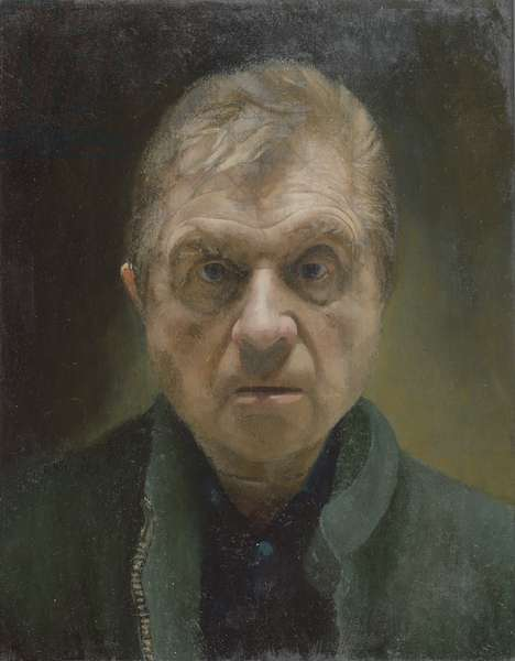 Portrait of Francis Bacon (oil on canvas)