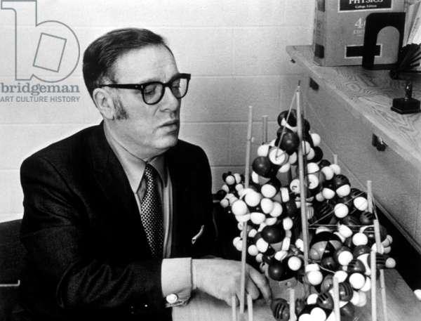 Issac Asimov around 1970.
