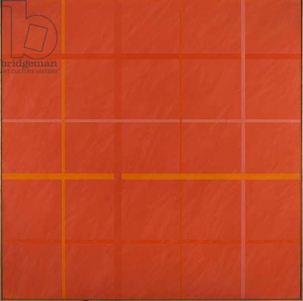 Painting-Architecture (Archipittura), 1975 (oil on canvas)