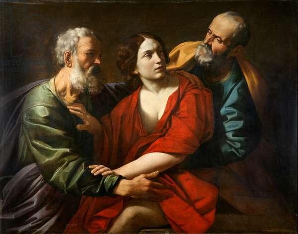 Susanna and the Elders, c.1610-20 (oil on canvas)