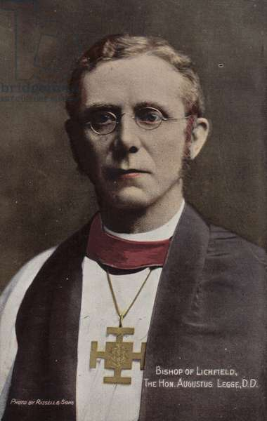 Bishop of Lichfield, The Hon Augustus Legge, DD (photo)