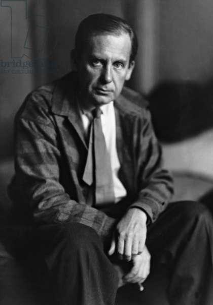 Walter Gropius, 1929 (b/w photo)