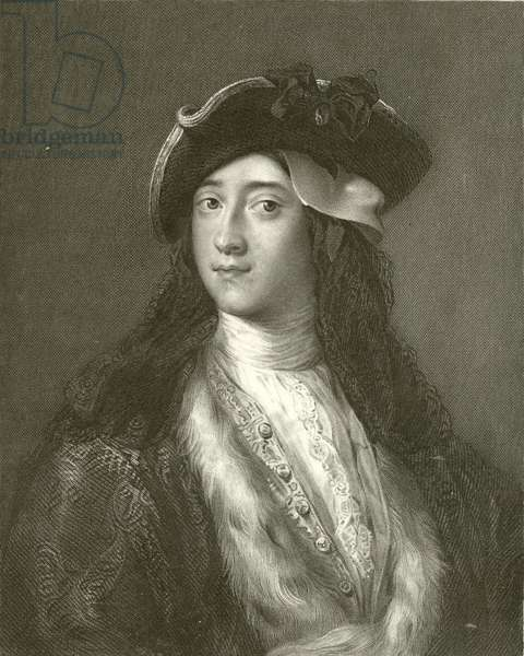 Horatio Walpole, Fourth Earl of Orford (engraving)