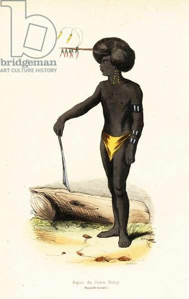 Papuan man of Dory Harbour, West Papua