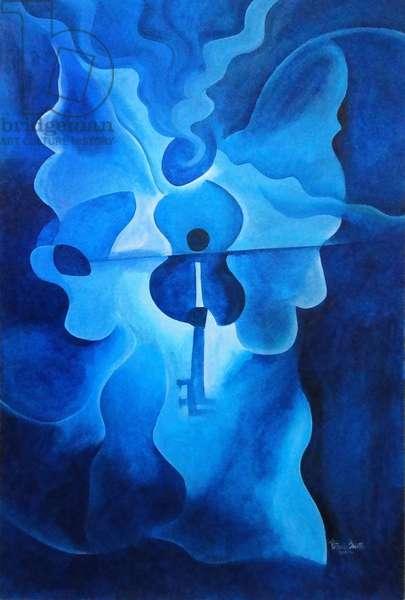 Angelic Concerto, 2010 (acrylic on wood)