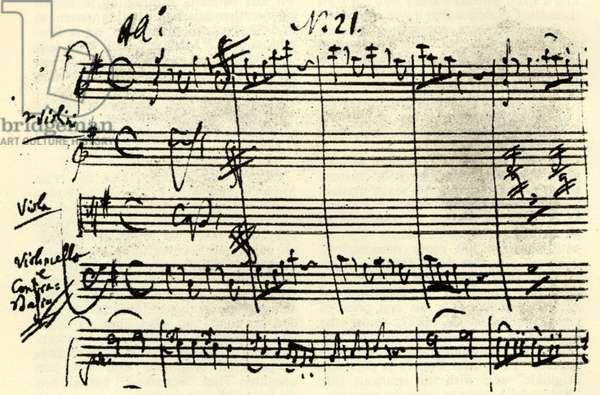 Wolfgang Amadeus Mozart 's