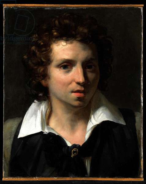 Portrait of a Young Man, c.1818 (oil on canvas)