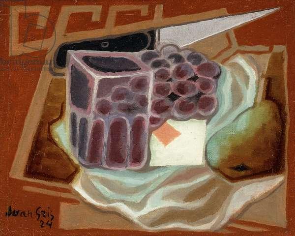 Ace of Diamonds; L'as de Carreau, 1924 (oil on canvas)