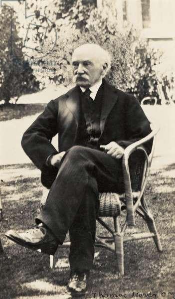 Thomas Hardy portrait outdoors