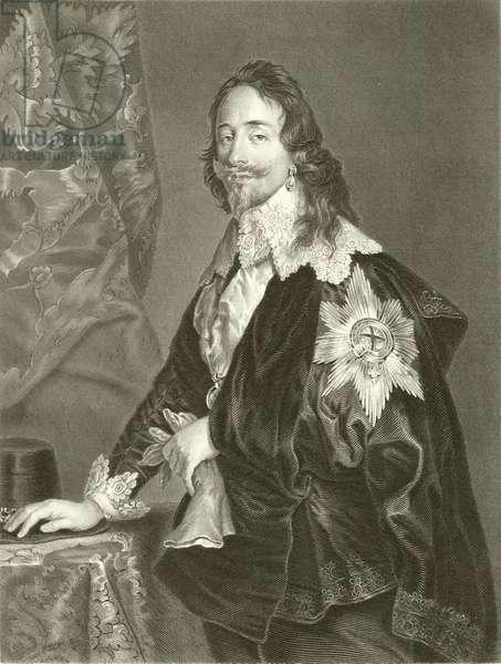 Charles I (engraving)