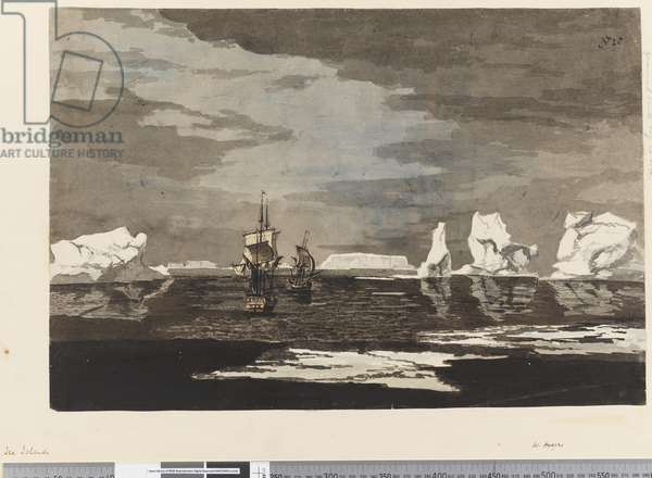 Page 28 Ice islands with the Resolution and Adventure, 1768-75 (w/c)