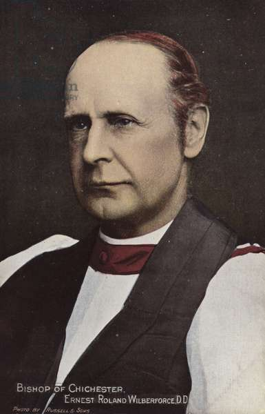 Bishop of Chichester, Ernest Roland Wilberforce, DD (photo)