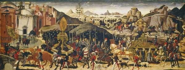 The Triumph of Camillus, c.1470/1475 (tempera on panel)