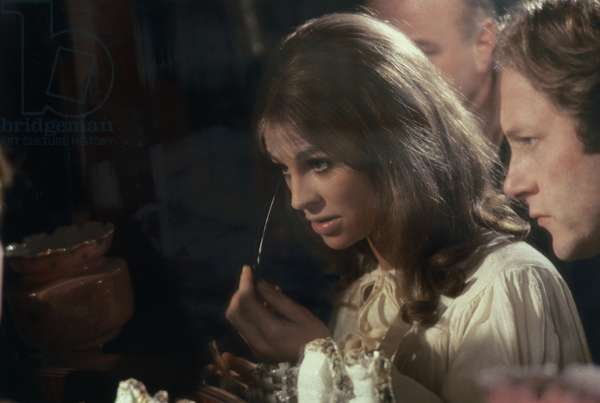 Julie Christie and Nicolas Roeg on the set of 'Far From the Madding Crowd', 1967 (photo)