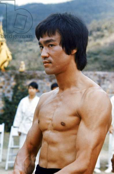 ENTER THE DRAGON (Operation dragon) by Robert Clouse with Bruce Lee, 1973 (photo)