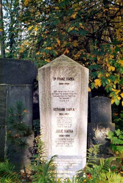 Franz Kafka - tombstone