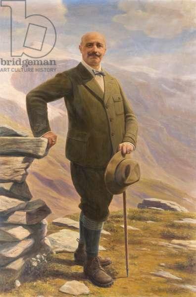 Portrait of mountaineer, 1934