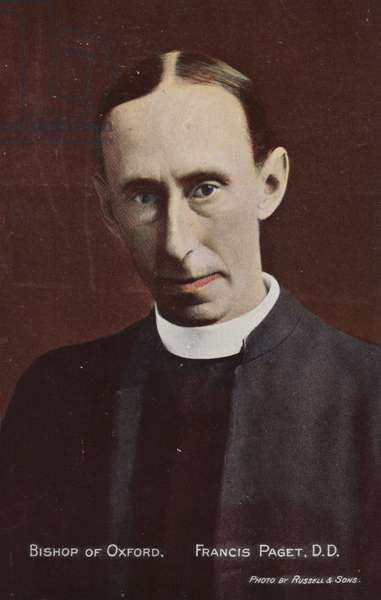 Bishop of Oxford, Francis Paget, DD (photo)
