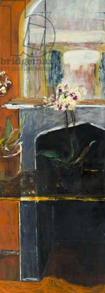 Interior with Orchid, 2016, (oil on canvas)