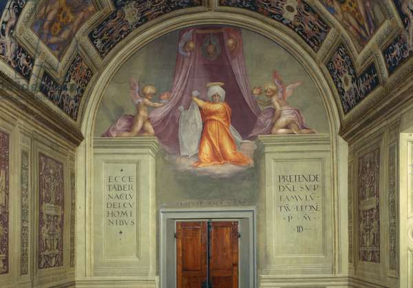 Santa Maria Novella: decoration of the Cappella del Papa (Pope's Chapel), 1515 (fresco)