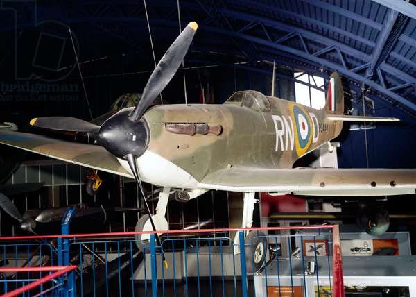 Vickers-Supermarine Mk I Spitfire, c.1940 (photo)