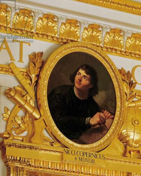Knights room, portrait of Nicolaus Copernicus, painted by Marcello Bacciarelli, 1783-1786.