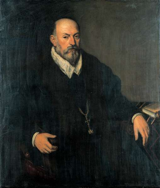 Portrait of a Venetian gentleman wearing the order of San Marco (oil on canvas)