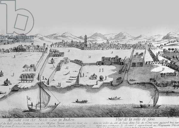 City of Goa, c.1780 (engraving)