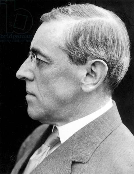 Woodrow Wilson (1856-1924) 28th President of the United States c.1912.