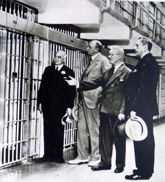 The cell of Al Capone
