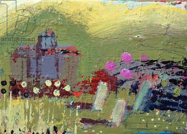 Iona landscape II, 2019 (acrylic on canvas)