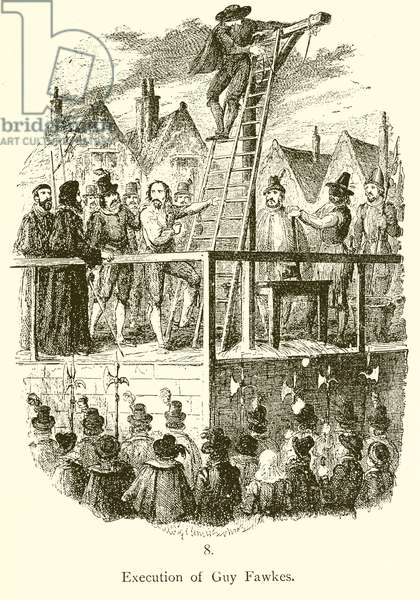 Execution of Guy Fawkes (engraving)