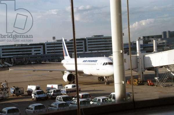 9150N Avion d Air France Transport aerien 2009