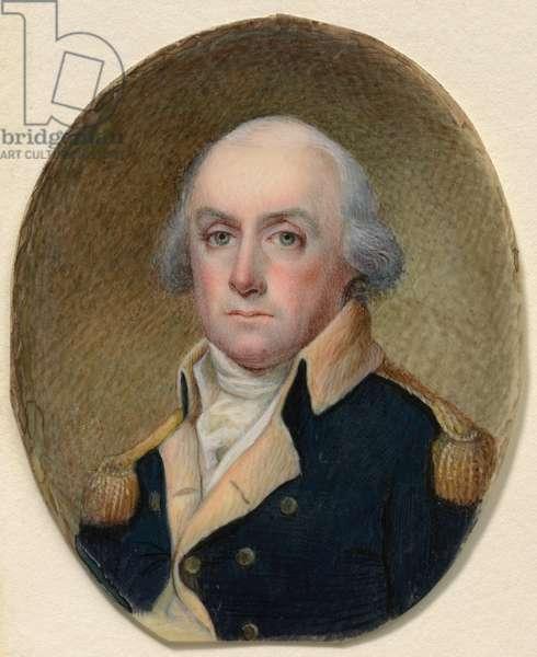 Lewis Morris IV (1752 - 1824), c.1800 (w/c on ivory)