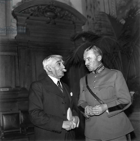 Switzerland Baron Pierre De Coubertin (b/w photo)