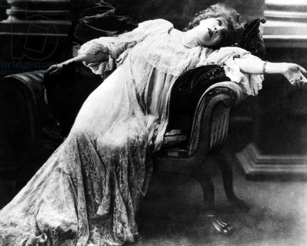 Actress Sarah Bernhardt (1844-1923)