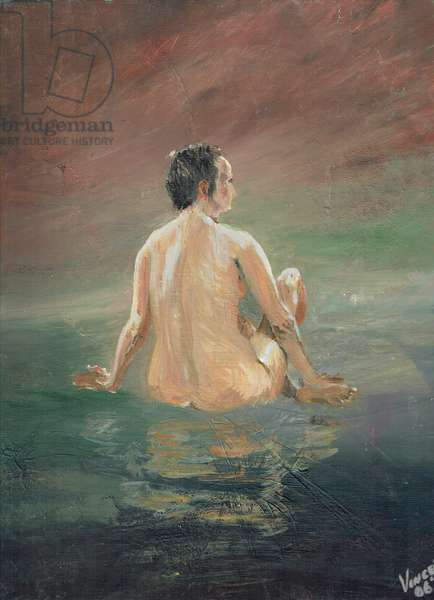 Naked, 2006 (acrylic on canvas board)