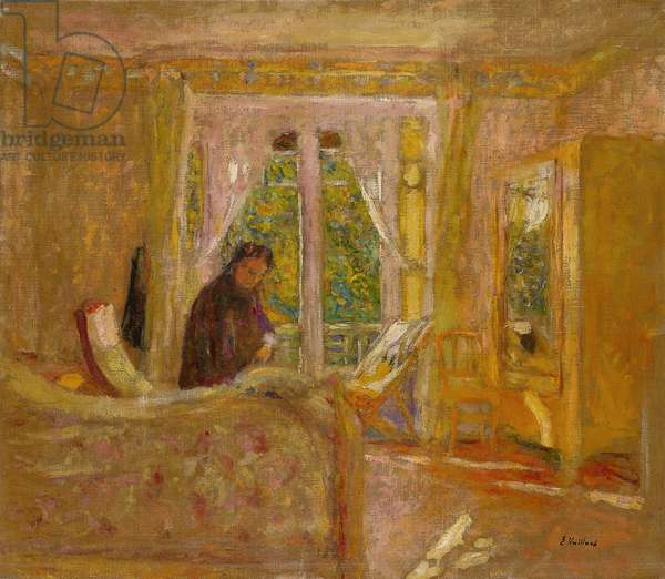 The Sunny Room, c.1920 (oil on canvas)