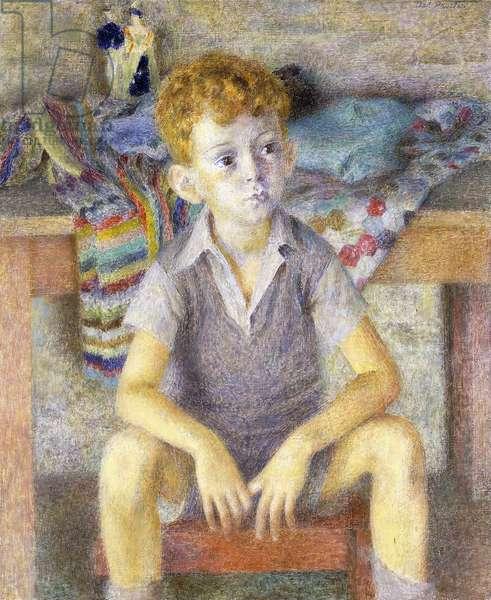 Portrait of Gilbert Grey, 1950 (oil on canvas)