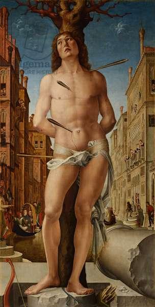 Saint Sebastian, 1495-c.1500 (oil on panel)