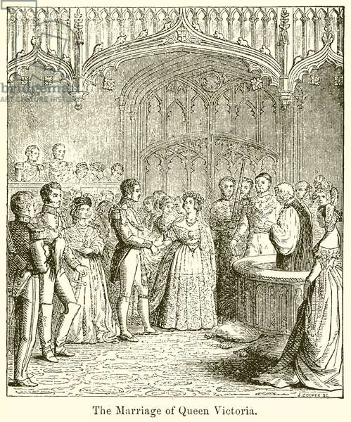 The Marriage of Queen Victoria (engraving)