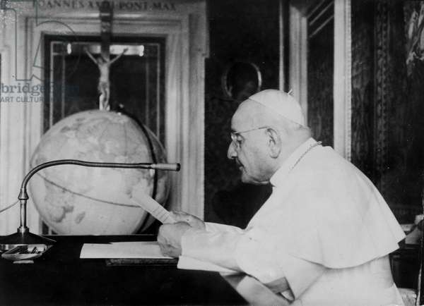 Rome October 25, 1962 Appeal for peace in the world by Pope John XXIII